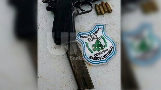 Un patrullero fue baleado en un intenso tiroteo que terminó con un detenido