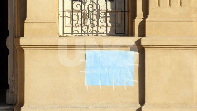 Repudiaron las pintadas antisemitas contra el director de la escuela Bustos