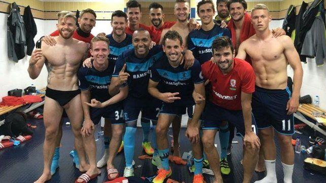 ¿Por qué se ha hecho viral esta foto del vestuario del Middlesbrough?