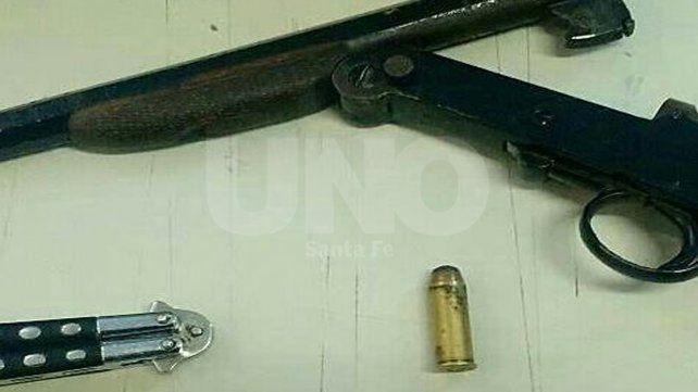 Barranquitas: secuestraron un arma y una bala de guerra después de un tiroteo