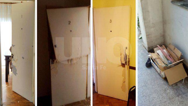 Saquearon y robaron un edificio de oficinas en el macrocentro santafesino