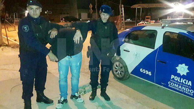 Tras un tiroteo, arrestaron a un violento delincuente armado