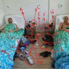 Manu Ginóbili destapó la mugre y la intimidad de su habitación con una foto y un relato imperdible