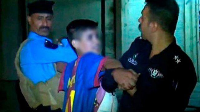 Irak: detienen a un niño kamikaze con la camiseta de Messi