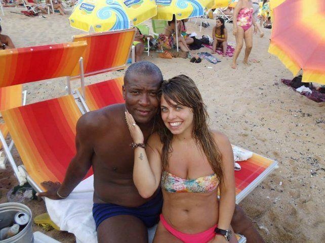 Mirá el infartante video hot de la novia del ayudante del técnico de Colón