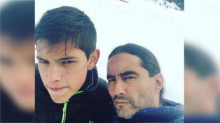 Gonzalo Agostini creció y se quiere parecer a su padre