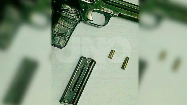 La pistola calibre 22