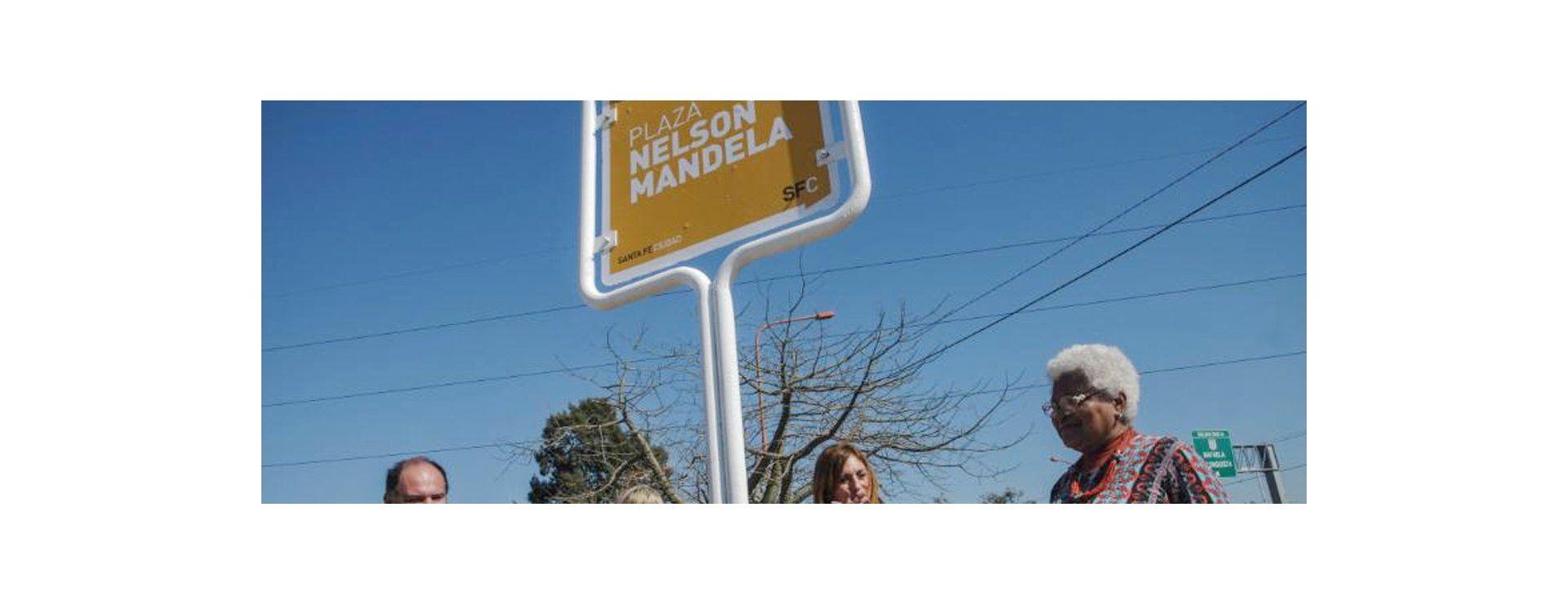 La Ciudad tiene una nueva plaza y lleva por nombre Nelson Mandela