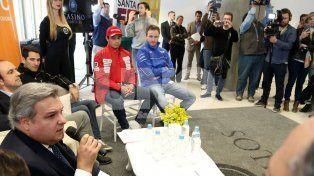 Presentaron la carrera del Súper TC2000 en el circuito callejero de la ciudad