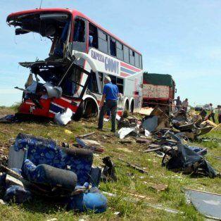 Tragedia. El 8 de octubre de 2006 murieron nueve alumnos, una docente, un camionero y acompañante.