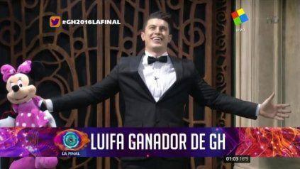 luifa se consagro como el ganador de gran hermano 2016