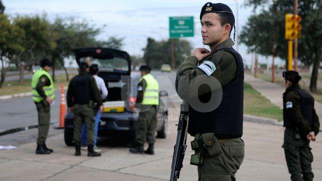 Presencia. El jefe de Gabinete dijo en la Cámara baja nacionalque aumentarán el envío de agentes de las fuerzas federales.