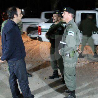 corral confirmo que santa fe tendra una dotacion permanente de gendarmeria
