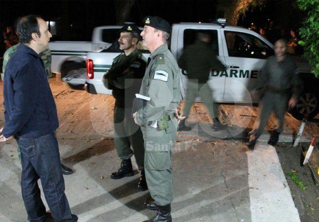 Corral confirmó que Santa Fe tendrá una dotación permanente de Gendarmería y más Policía Federal