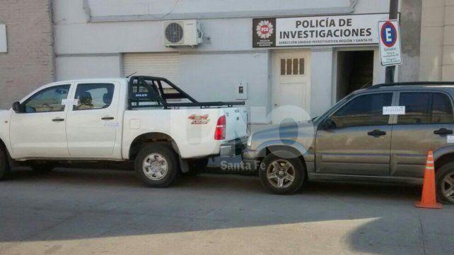 Secuestraron dos camionetas, una con pedido de secuestro por robo