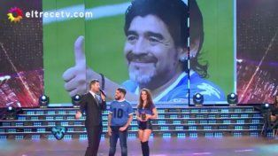 Marcelo Tinelli le dedicó sentidas palabras a Maradona