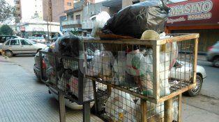 Por un paro de trabajadores, no hay recolección de residuos en media ciudad