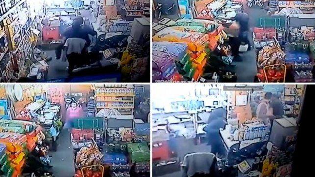 Un hombre quiso rociar con nafta a una mujer en un negocio de barrio Barranquitas
