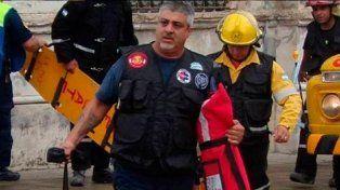 Un bombero acudió a un siniestro y la víctima fatal era su hijo
