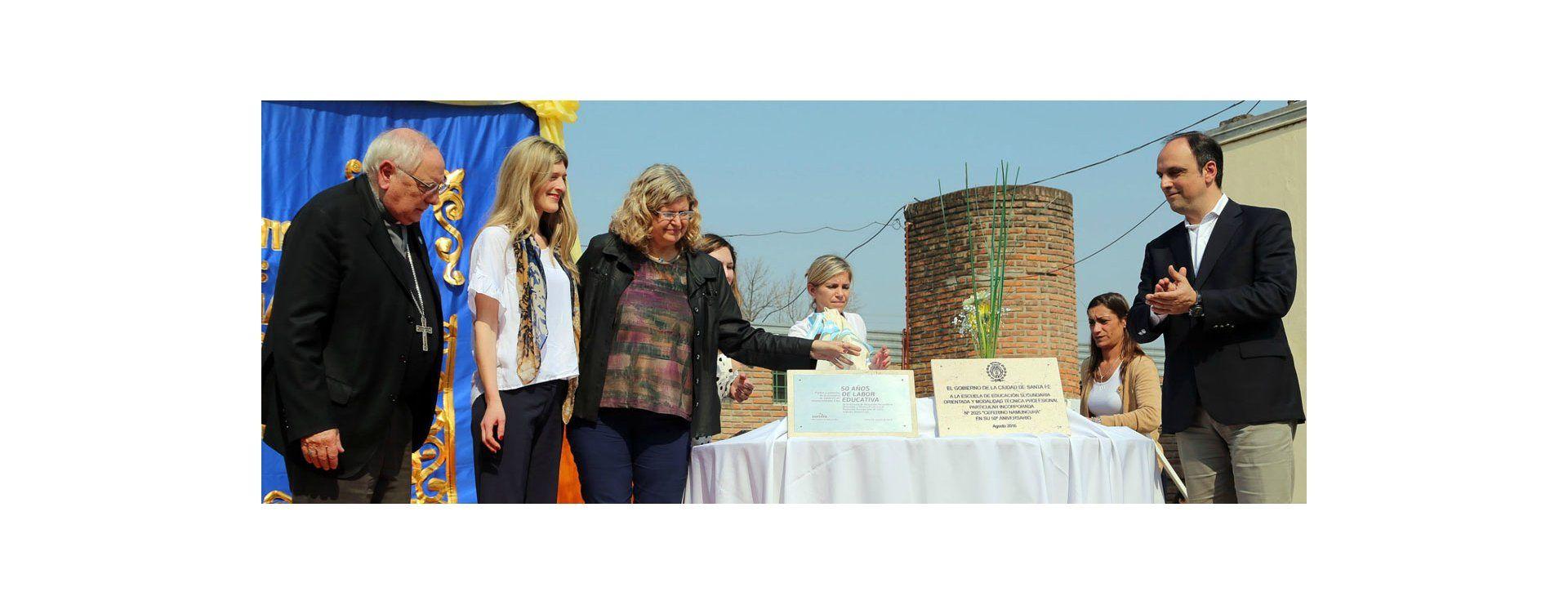 La escuela N° 2025 Ceferino Namuncurá cumplió 50 años