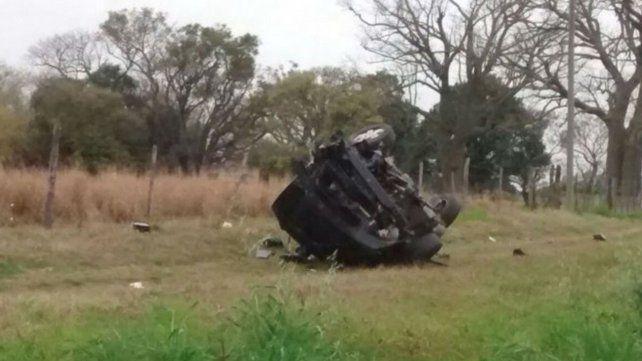 Dos jóvenes perdieron la vida en un accidente sobre la ruta nº 11