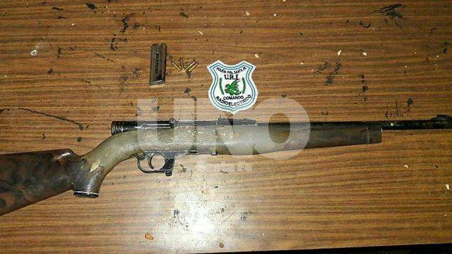 Detuvieron a dos jóvenes tras un intenso tiroteo en Barranquitas
