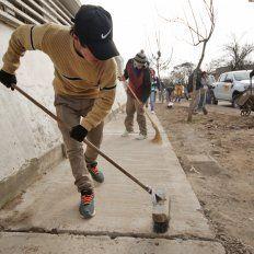 Escuelas de Trabajo: realizan mejoras en la Escuela N° 265 Yapeyú
