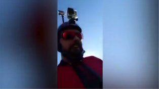 Transmitió en vivo su muerte al realizar salto BASE