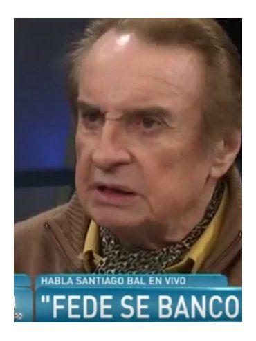 Otra desafortunada frase de Santiago Bal para José María Muscari