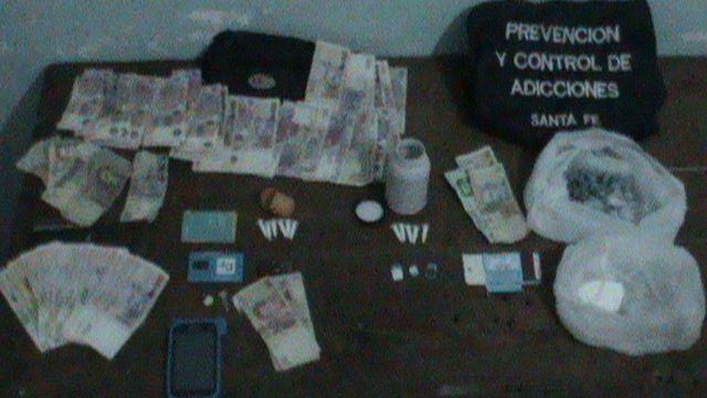 Secuestraron cocaína lista para su venta en Coronda