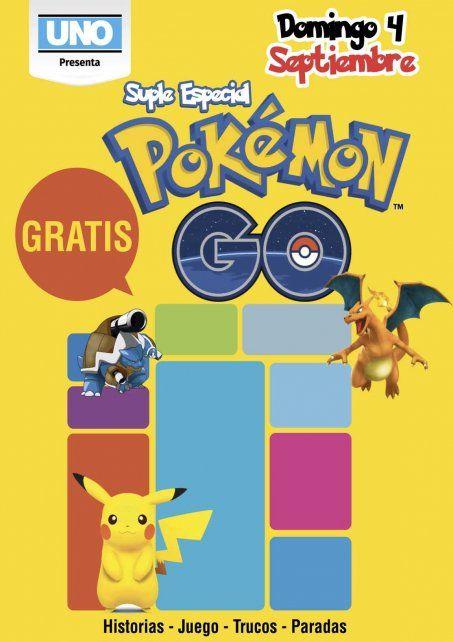 Este domingo llevate GRATIS el Suplemento de Pokemon Go