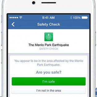 facebook permitira activar el boton estoy bien tras una situacion critica