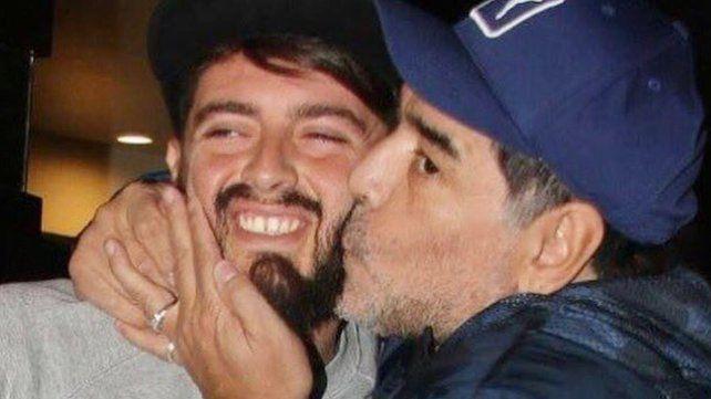 Las fuertes condiciones de Maradona para reconocer a Diego Junior como su hijo