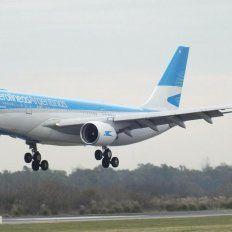 A partir de este jueves habrá dos vuelos diarios a la ciudad de Buenos Aires