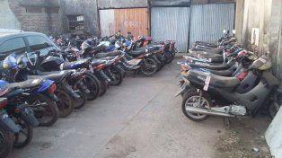 Recuperan más de treinta motos robadas de diversas cilindradas