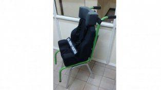 Recuperaron la silla robada a un niño entrerriano con parálisis cerebral