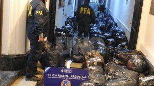 Rafaela: La Policía Federal secuestró más de un millón de pesos en ropa con la marca adulterada