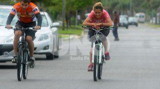 Obstáculos. Los ciclistas piden mejoras en las calles.