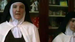 Monjas de Nogoyá difundieron un video desmintiendo que sufran maltratos