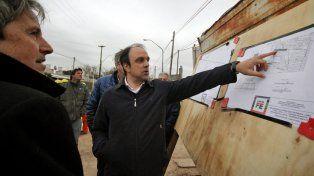 El desagüe Larrea es un sueño que se concreta para todo el Norte de la Ciudad