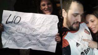 Messi lo hizo: le firmó la camiseta de Newells a Cecilia y habrá casamiento en Mendoza