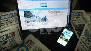 Diario UNO de Santa Fe, el medio digital más leído de la ciudad