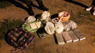 Gendarmería decomisó en Santa Fe cocaína, marihuana, sustancia de corte y dinero en efectivo