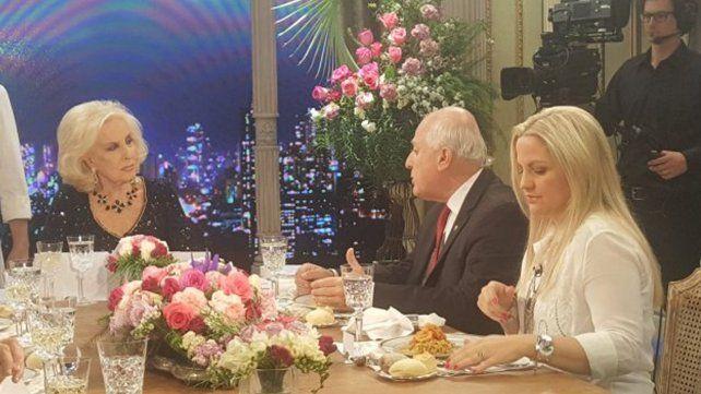 Cinco conceptos del gobernador Lifschitz, que visitó la mesa de Mirtha Legrand