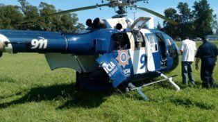 Los helicópteros de la policía provincial siguen en problemas