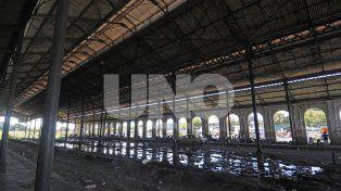Deplorable. Es el estado en el que se encuentran las instalaciones de la ex-Estación Mitre.