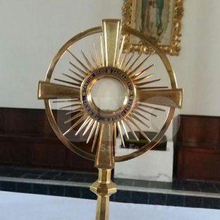 conmocion por la aparicion de la virgen en santa fe