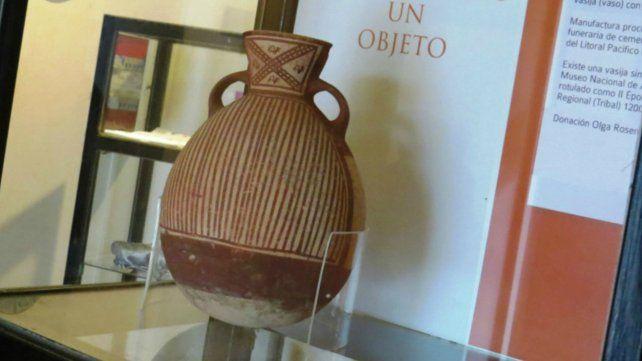 El Museo Etnográfico presenta una Vasija Preincaica