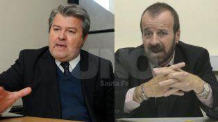 Tiempo. El defensor general (derecha) y el fiscal regional de Reconquista siguen esperando que se resuelva su situación. Ahora deben aguardar otras dos semanas.