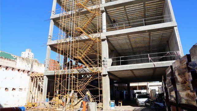 Iniciaron las tareas finales del nuevo edificio del Instituto Nº 12